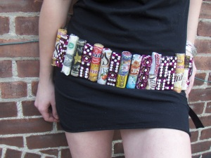 Belt created for the Global Vice ensemble. Photo credit: Louisa Gaylord