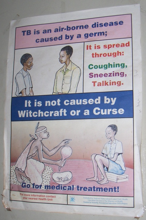 Hospital poster in Kampala. Photo credit: Louisa Gaylord