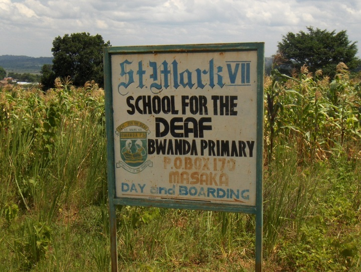 St. Mark's VII school for the deaf in Masaka. Photo credit: Louisa Gayord
