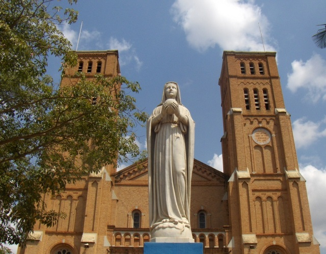 Church of the Daughters of Mary and Joseph in Masaka, Uganda. Photo credit: Louisa Gaylord