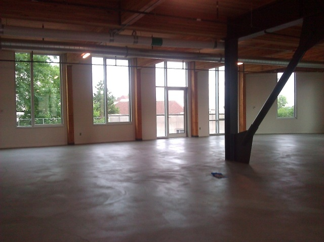 The third floor of the Bullitt Center must be occupied before they can start the Living Building certification process.