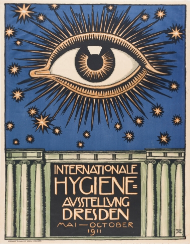 Poster for an international science expo