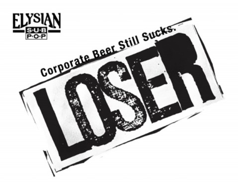 Corporate Beer Still Sucks - the ironic tagline of this Anheuser-Busch subsidiary