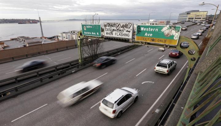 CORRECTION Seattle Tunnel